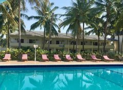 Pool at Oceanic Bay Hotel's beach resort in Bagamoyo