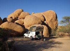 Camping equipment from Odyssey Car Hire in Windhoek