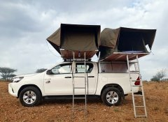 Odyssey Car Hire in Windhoek offers roof top tents