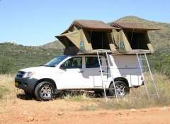 Camping in Namibia with a car from Odyssey Car Hire