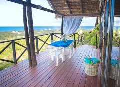 Sea view at Paradise Dunes accommodation in Tofo Beach
