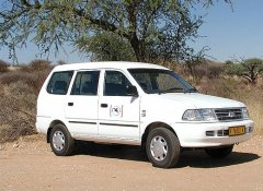 Pegasus Car and Camper Hire, 4x4 camping in Windhoek