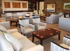 Club house at Plettenberg Bay Country Club & golf course