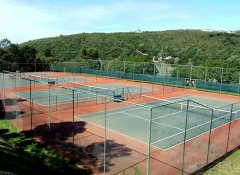 Tennis courts at Plettenberg Bay Country Club & golf