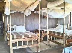 Family cottage at Ruaha Hilltop Lodge in Ruaha
