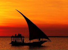 Sunset dhow cruise in Zanzibar with Safari By Z