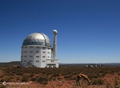 Southern African Large Telescope in the Karoo