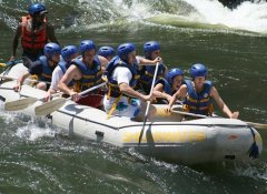 White water rafting with Shearwater in Victoria Falls