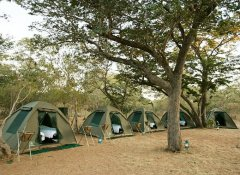 Safari accommodation at Shearwater Victoria Falls
