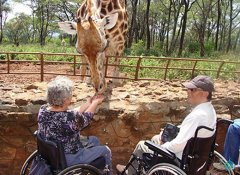 Handicap travels in Africa with Shidolya Tours & Safaris