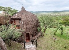 Traditional accommodation in Tanzania with Shidolya Tours