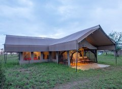 Tented accommodation in Tanzania with Shidolya Tours