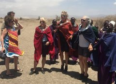 Maasai cultural day tour with Snow Africa Adventures