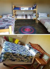 Dorm and cottage room Sobantu Guest Farm & Backpackers