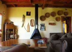 Lounge at Sobantu Guest Farm in Piggs Peak, eSwatini