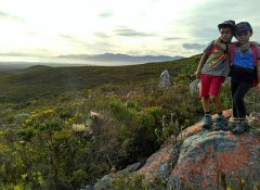 The Fynbos Trail in the Overberg and hiking in the Cape