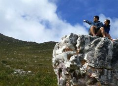 Slackpacking in the Cape on The Overberg Fynbos Trail