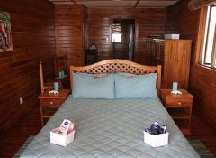 Double room at The Shipwreck Lodge in Pomene, Mozambique