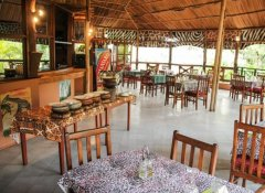 Restaurant at The Vijiji Center Lodge