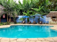 Swimming pool at The Vijiji Center Lodge