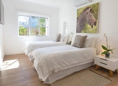 Deluxe room at theLab Franschhoek guesthouse, winelands