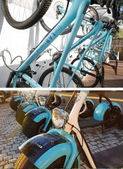 Bicycle hire and e-scooter rental at theLab Franschhoek