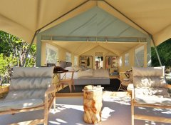 Safari Tent on Tsowa Island