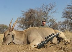 Rifle hunting in South Africa with van Wijk Safaris