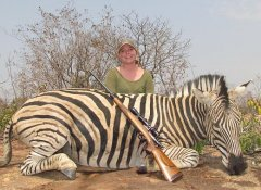 Plains game hunting with van Wijk Safaris in Limpopo