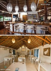Bar and conference room at Vilanculos Beach Lodge