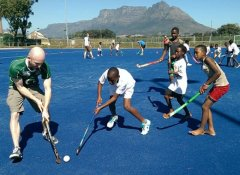 Passionate about sports with Volunteer Encounter SA