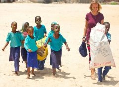 Eco education for kids at Volunteer Encounter Zanzibar