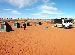 Wild Dog Safaris overlanding and camping in Namibia