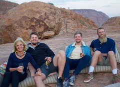 Exploring Damaraland on self-drive Wild Dog Safaris