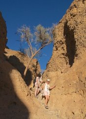 Hiking Sesriem Canyon on self-drive Wild Dog Safaris