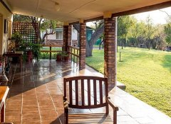 Tranquil setting at Woodlands Stop Over in Francistown
