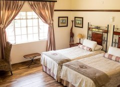 Twin room at Woodlands Stop Over & Lodge in Francistown