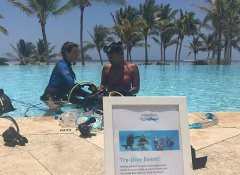 Pool try-dive with Zanzibar Parasailing and Water Sports