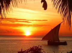 Sunset Dhow cruise with Zanzibar Parasailing in Nungwi