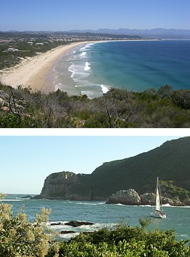 Beach & Water Sport on the Garden Route, South Africa