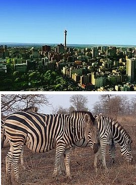 Johannesburg, Panorama Route, Blyde River Canyon & Kruger National Park